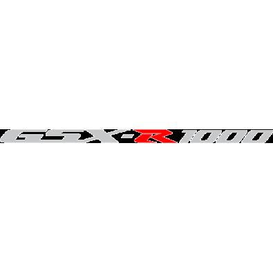 Autocollant / Sticker suzuki gsxr 1000