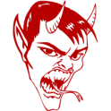 Autocollant / Sticker diable