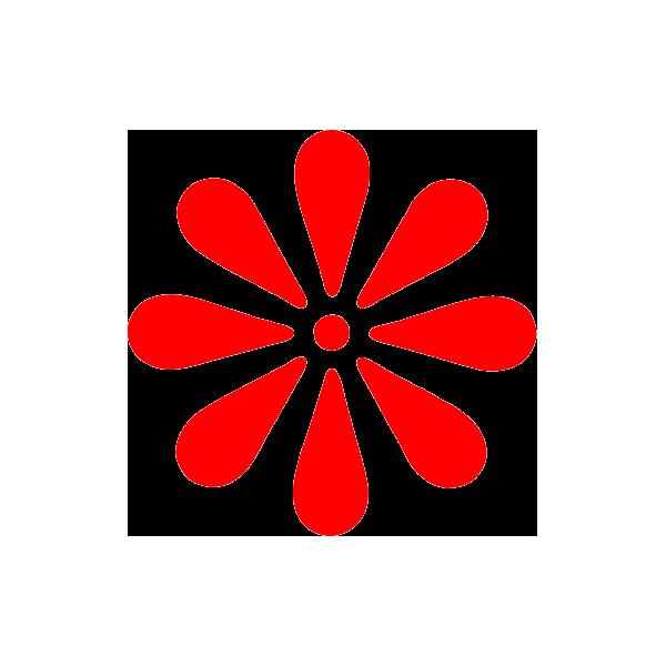 autocollant sticker fleur hawaii graficandsystem. Black Bedroom Furniture Sets. Home Design Ideas