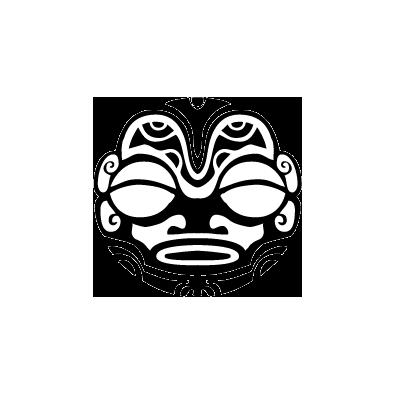 Autocollant / Sticker logo casque