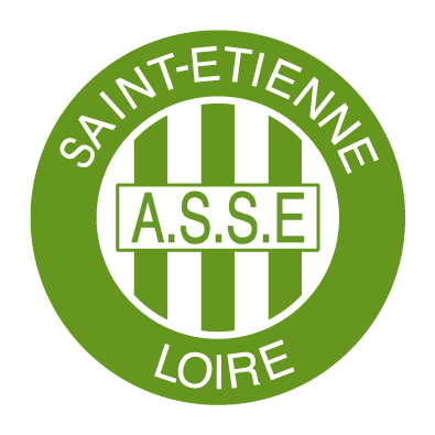 Autocollant / Sticker  football st etienne