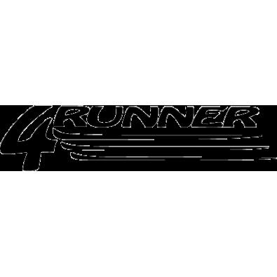 Autocollant / Sticker 4x4 runner