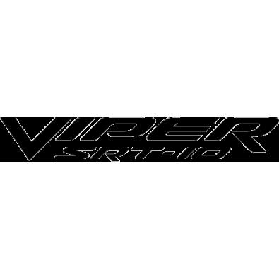 Autocollant / Sticker viper srt
