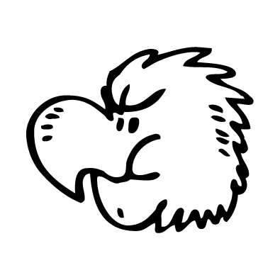 Autocollant / Sticker oiseau